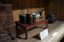 旧篠原家住宅五月人形の展示