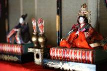旧篠原家住宅 雛人形・打掛の特別展示