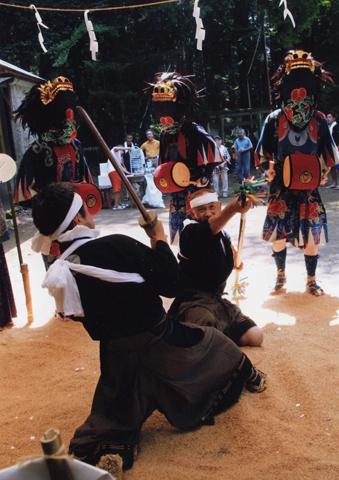 「伝統の舞」 宇都宮市 山中 富夫さん